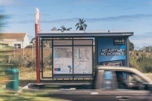 CellC Bus Shelter Cape Town