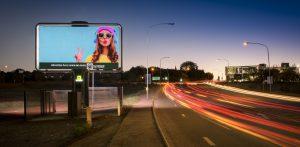 Centurion advertising billboard