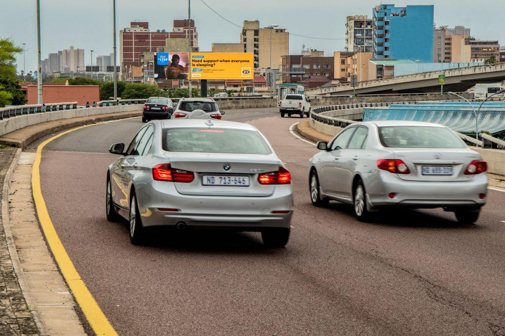 Digital Billboard on busy highway site in KZN